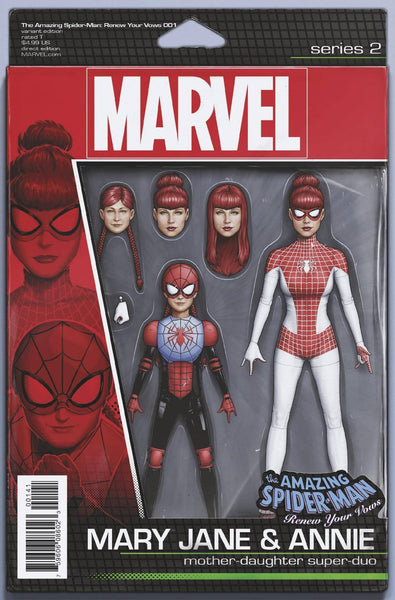 AMAZING SPIDERMAN RENEW YOUR VOWS VOL 2 #1 VARIANT ACTION FIGURE