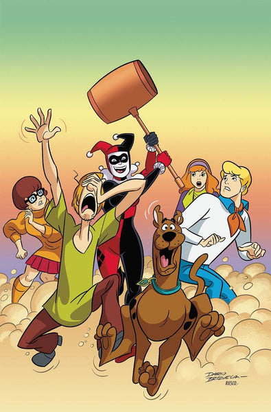 SCOOBY DOO TEAM UP #21 COVER A 1st PRINT