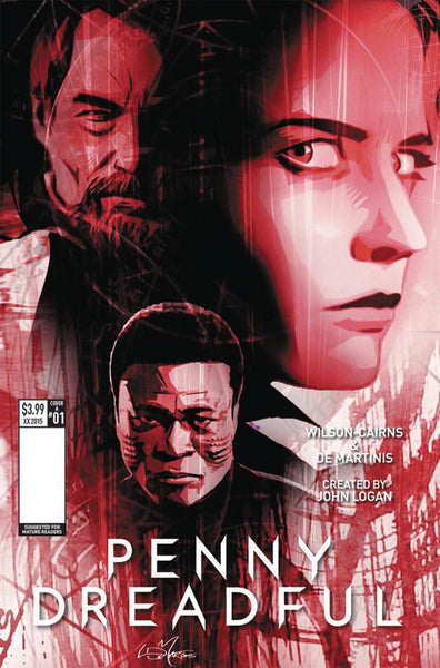 PENNY DREADFUL #1 COVER C LOUIS DE MARTINIS VARIANT