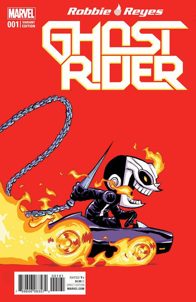 GHOST RIDER VOL 7 #1 COVER VARIANT E SKOTTIE YOUNG BABY