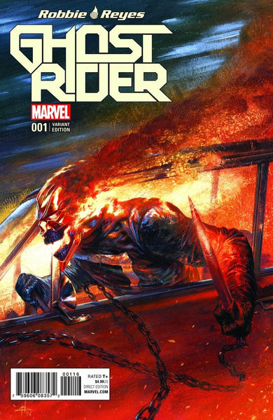 GHOST RIDER VOL 7 #1 FRANKIES GABRIELLE DELL OTTO COLOR VARIANT