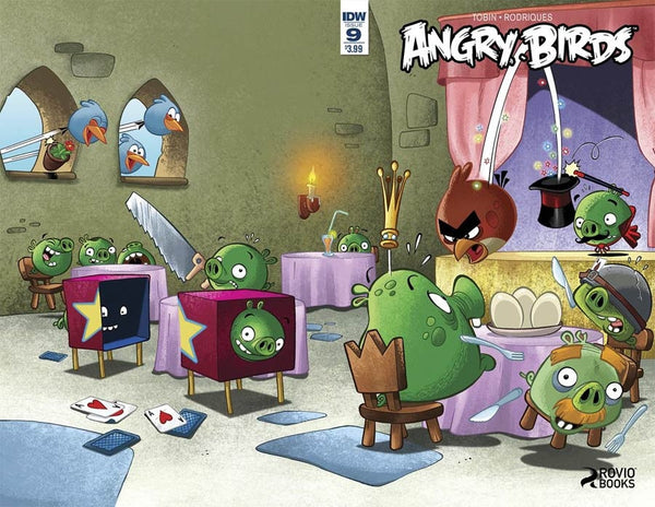 ANGRY BIRDS COMICS GAME PLAY #1 MAIN COVER