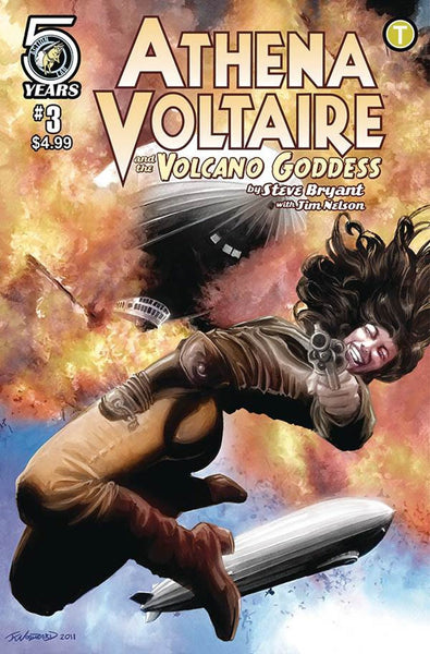 ATHENA VOLTAIRE & THE VOLCANO GODDESS #3 COVER B VARIANT