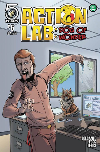 ACTION LAB DOG OF WONDER #5 COVER B VARIANT