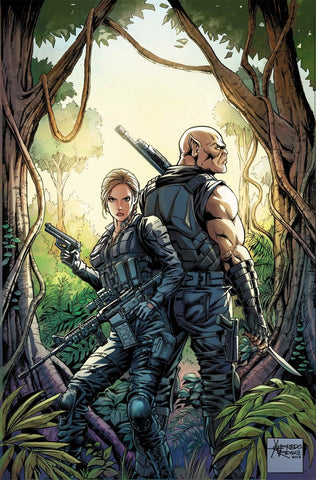ESCAPE FROM MONSTER ISLAND #5 (of 5) CVR B ALFREDO REYES VARIANT