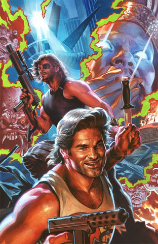 BIG TROUBLE IN LITTLE CHINA ESCAPE NEW YORK #4