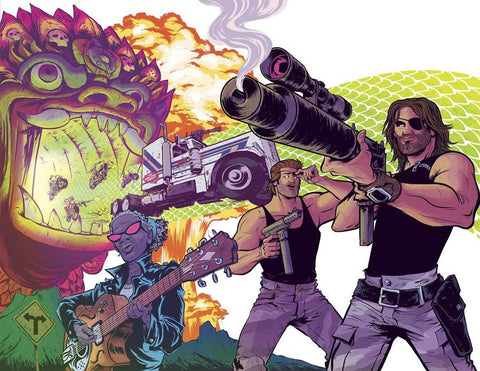 BIG TROUBLE IN LITTLE CHINA ESCAPE NEW YORK #4 WRAP VARIANT