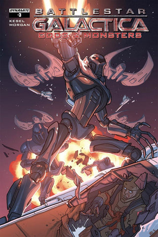 BATTLESTAR GALACTICA GODS & MONSTERS #3 COVER B VARIANT