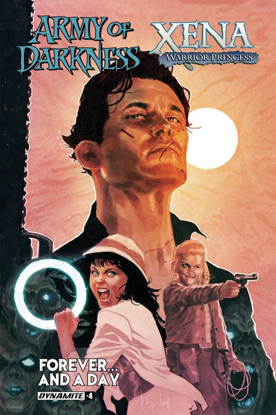 ARMY OF DARKNESS XENA FOREVER & A DAY #4 COVER A MAIN