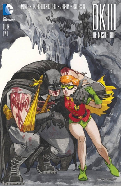 DARK KNIGHT III #2 WONDERCON 2016 JILL THOMPSON VARIANT