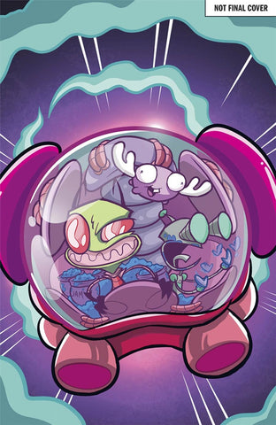 INVADER ZIM #17 COVER A MAIN COVER