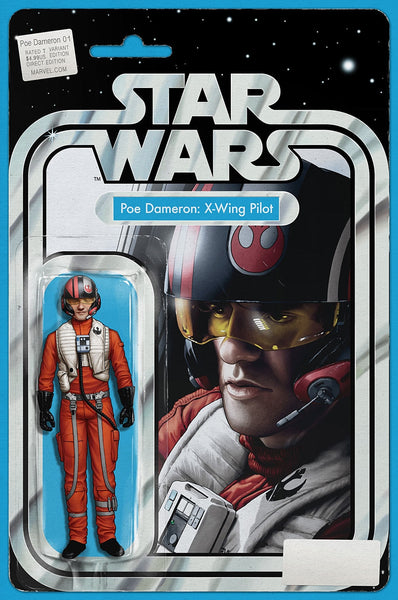 STAR WARS POE DAMERON #1 JT CHRISTOPHER ACTION FIGURE VARIANT