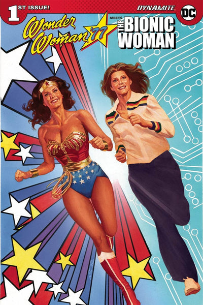 WONDER WOMAN 77 MEETS BIONIC WOMAN #1 CVR B ALEX ROSS VARIANT