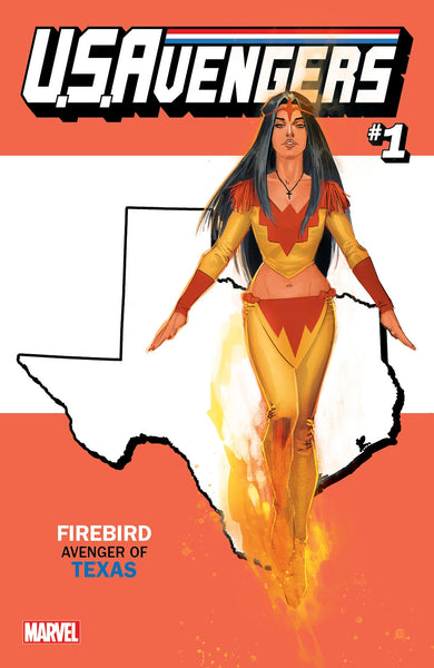 US AVENGERS #1 COVER Z-Y TEXAS STATE VARIANT