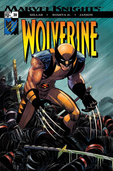 TRUE BELIEVERS WOLVERINE ENEMY OF THE STATE #1 1ST PRINT