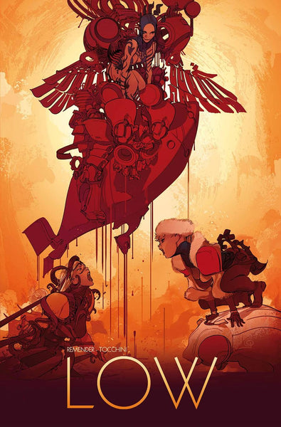 LOW #13 COVER B TOCCHINI