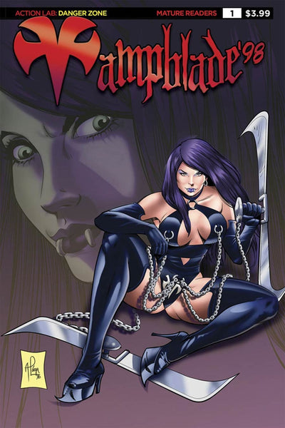 VAMPBLADE 98 ONE SHOT COVER A LOUGA