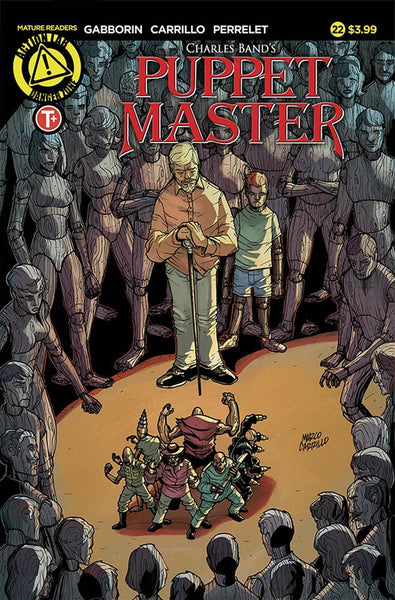 PUPPET MASTER #22 COVER A MAIN COVER CARRILLO