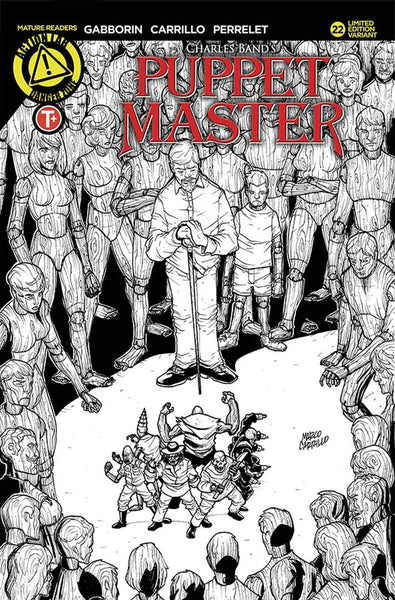 PUPPET MASTER #22 COVER B CARRILLO SKETCH VARIANT