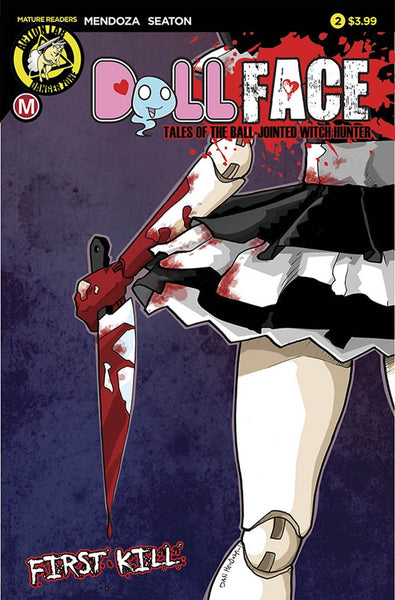 DOLLFACE #2 COVER A MAIN DAN MENDOZA