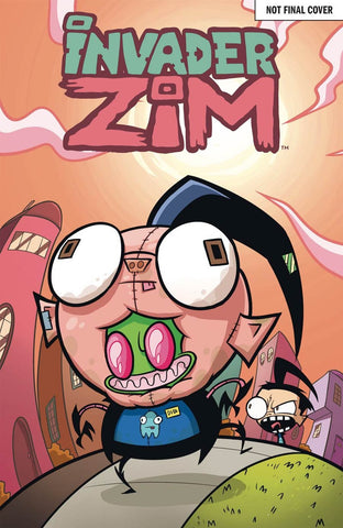 INVADER ZIM #18 1st PRINT MAIN COVER