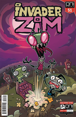 INVADER ZIM #1 DOLLAR EDITION VARIANT