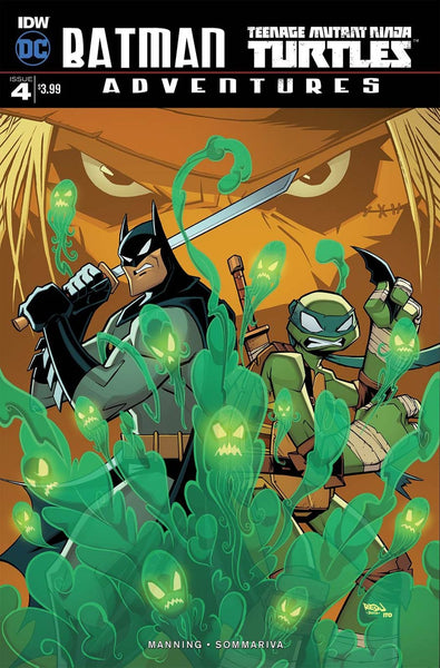 BATMAN TMNT ADVENTURES #4 MAIN COVER