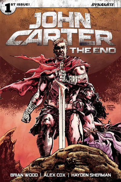 JOHN CARTER THE END #1 CVR D GABRIEL HARDMAN VARIANT