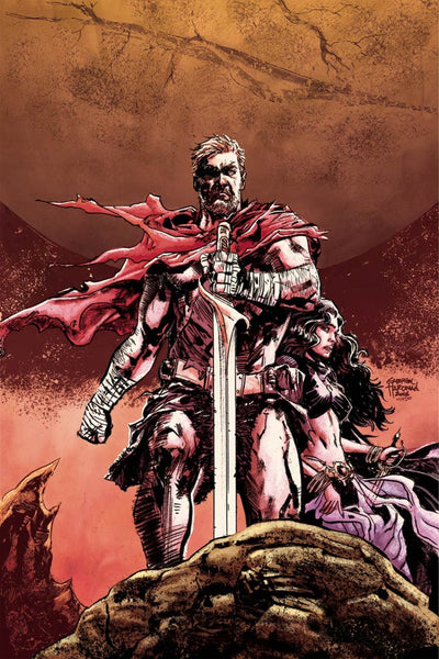 JOHN CARTER THE END #1 DF DYNAMIC FORCES CASTRO COLOR VARIANT