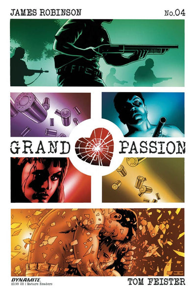 GRAND PASSION #4 MAIN COVER JOHN CASSADAY