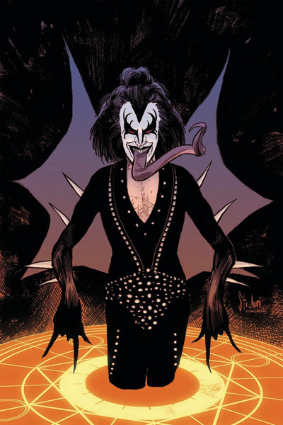 KISS THE DEMON #2 COVER G STRAHM VIRGIN VARIANT