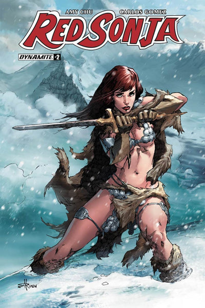 RED SONJA VOL 7 #2 COVER D SUBSCRIPTION MEL RUBI VARIANT