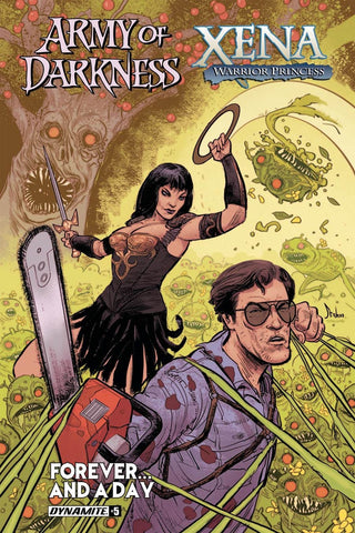 ARMY OF DARKNESS XENA FOREVER & A DAY #5 COVER A MAIN