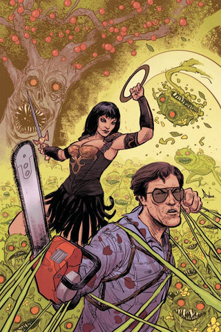 ARMY OF DARKNESS XENA FOREVER & A DAY #5 COVER B VIRGIN VARIANT