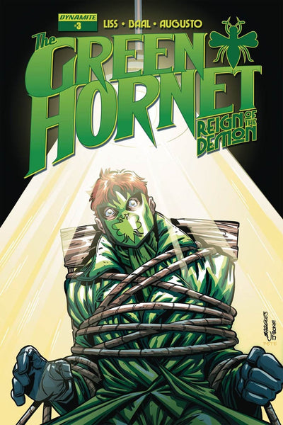 GREEN HORNET REIGN OF THE DEMON #3 MARQUES VARIANT
