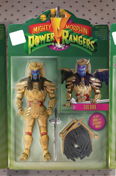 MIGHTY MORPHIN POWER RANGERS #12 UNLOCK ACTION FIGURE VARIANT