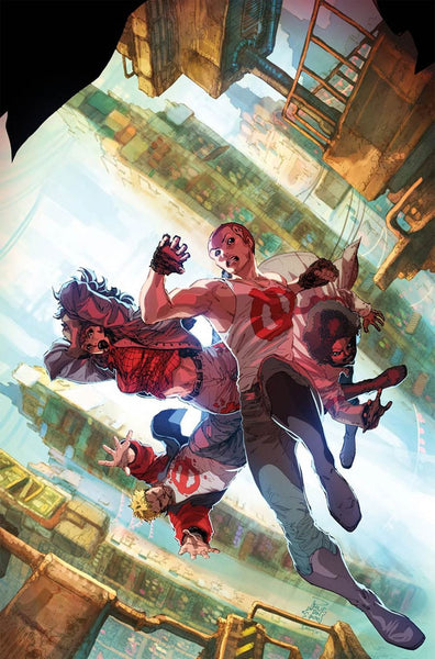 GENERATION ZERO #7 COVER B PHILIP TAN VARIANT