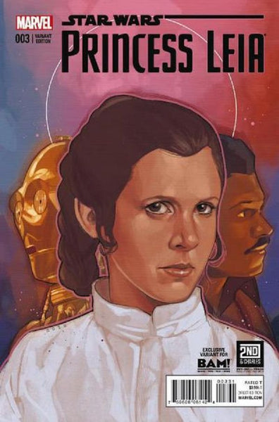 STAR WARS PRINCESS LEIA #3 BAM PHIL NOTO VARIANT