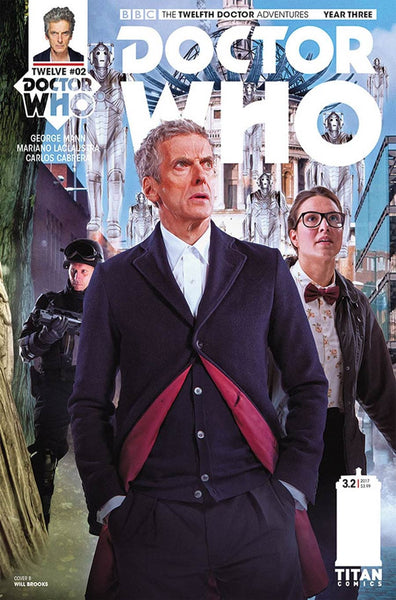 DOCTOR WHO 12TH YEAR THREE #2 CVR B PHOTO VARIANT