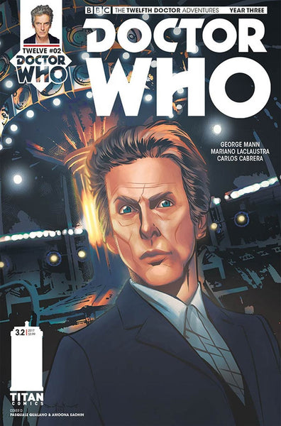 DOCTOR WHO 12TH YEAR THREE #2 CVR D QUALANO VARIANT