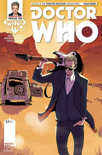 DOCTOR WHO 12TH YEAR THREE #2 CVR E ZANFARDINO VARIANT