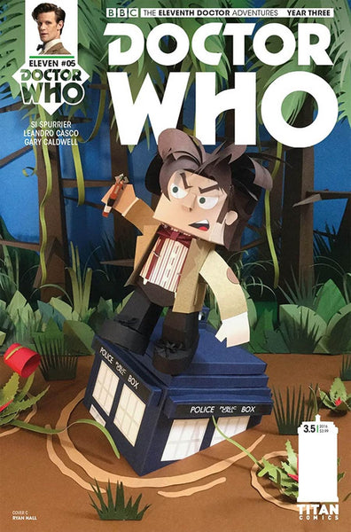 DOCTOR WHO 11TH YEAR THREE #5 CVR C PAPERCRAFT VARIANT