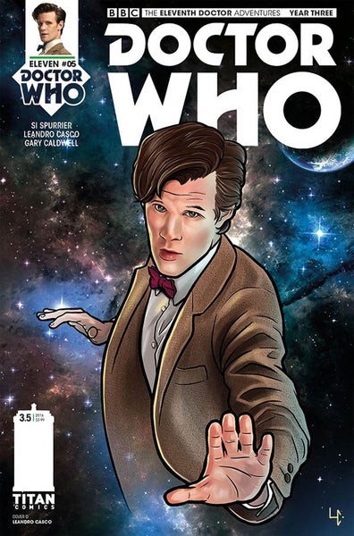 DOCTOR WHO 11TH YEAR THREE #5 CVR D CASCO VARIANT