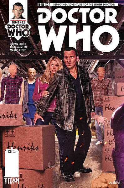 DOCTOR WHO 9TH #12 CVR B PHOTO VARIANT