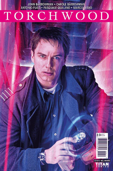 TORCHWOOD 2 #3 CVR B PHOTO VARIANT