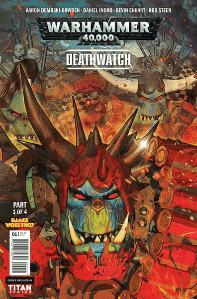 WARHAMMER 40000 DEATHWATCH THE LOST SONS #1 CVR B LISTRANI VAR