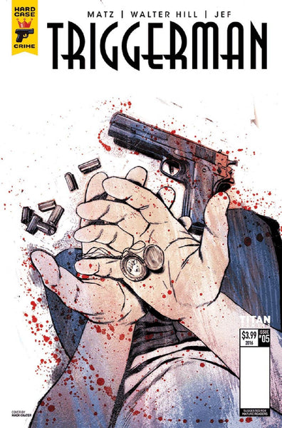 HARD CASE CRIME TRIGGERMAN #5 (OF 5) CVR B CHATER VARIANT