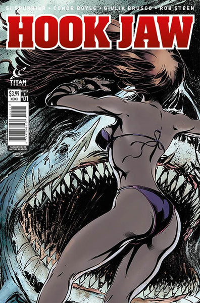 HOOKJAW #3 COVER B MANDRAKE VARIANT