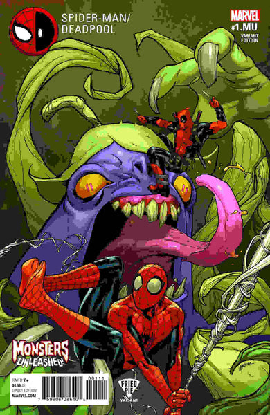 SPIDERMAN DEADPOOL #1.MU (MONSTERS UNLEASHED) FRIED PIE VARIANT