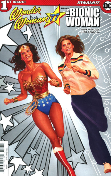 WONDER WOMAN 77 MEETS BIONIC WOMAN #1 CVR H ROSS SPOT VARIANT